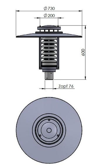 Gadebusch Zopf 76 'Zeichnung