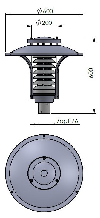 Graal Müritz Zeichnung Zopf 76