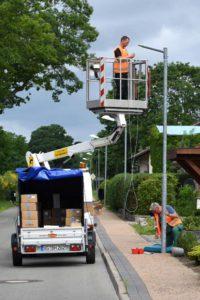 Umrüstung der Straßenbeleuchtung im Seebad Ueckermünde