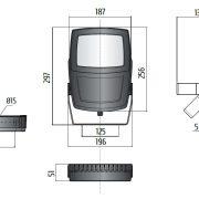 TSL 260 LED Gen2 Skizze