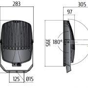 TSL 400 LED Gen2 Skizze